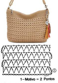 Crotchet Bags, Diy Crochet Bag, Crochet Bag Tutorials, Crochet Purse Patterns, Knitted Bags, Crochet Handbags, Crochet Purses, Crochet Accessories, Crochet Designs
