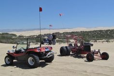An Old School Buggy Reunion at the Pismo Dunes