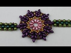 In this video i show you how to make a beaded pendant with twin beads. Happy crafting !!! :) Music: Free Youtube Audio Library