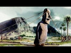 """Moai Stone Statues: history and clip on how they 'walked"""""""
