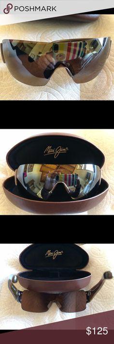 Maui Jim sunglasses Uni sex Maui Jim NEW.  The real thing have to wear RX now tortoise frame stripe awesome style Maui Jim Accessories Sunglasses