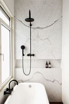 black shower fittings and accessories