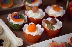 cupcake d'automne