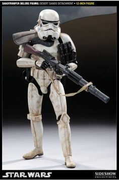 Figura Star Wars. Sandtrooper Desert, 30 cms. Sideshow Collectibles