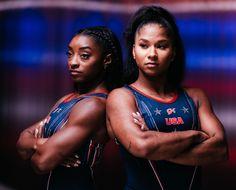 2020 Olympics, Tokyo Olympics, Summer Olympics, Jordan Chiles, Team Usa Gymnastics, Simone Biles, Team Photos, Olympians, Role Models