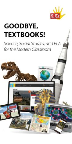 Give your students material they can get TRULY excited about. Our collection of science, social studies, and ELA products are designed for today's learner! Lifelong learning starts with Kids Discover.