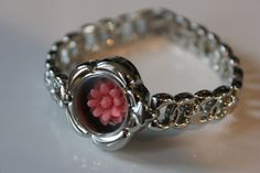 Beautiful the Camellia Collection with flower watch Raspberry. Any delicate this silver watch measures 7 inches and to arrange these elements perfectly with a bracelet of beads. Camellia, Raspberry, Creations, Delicate, Buy And Sell, Etsy, Beads, Bracelets, Rings