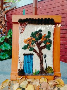 Taller Mhaisiu Maria Soledad Tapestry Weaving, Loom Weaving, Baby Shawer, Wall Decor, Wall Art, Tear, Weaving Techniques, Easter Crafts, Lana