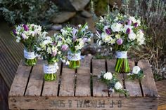 A Spring Vintage Wedding - The Flower Patch