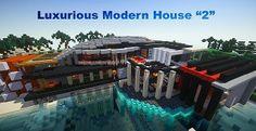 Luxurious Modern House   Minecraft Building Inc