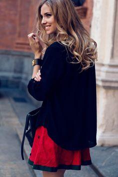 Chiara Ferragni, The blonde salad fashion blogger.