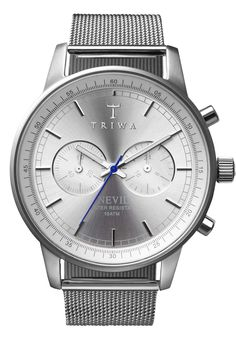 Triwa Nevil Stirling Steel Watch | Free Worldwide Shipping