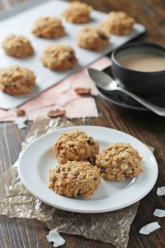 Healthier Carrot Cake Cookies   cookiemonstercooking.com