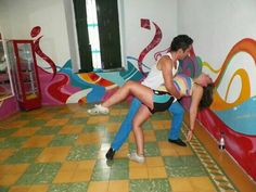 Learning how to Salsa in the city where the true origin of salsa lies - Cali Colombia May '13