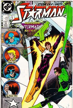 Invasion Extra: Aftermath. The Atom, Green Lantern, Blue Beetle and Power Girl guest-star as Starman helps in the clean-up after the alien invasion...and the Power Elite confronts him once again. Writ