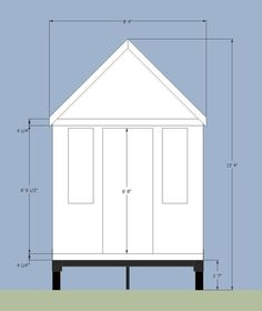 Max size for tiny home on a trailer 13.5ft tall, 8.5ft wide, 40ft long (65ft w/ towing vehicle) in most US states