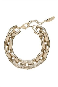 Link On Link Bracelet - NZ$79.90 - I have this in silver and I get so many compliments ♡