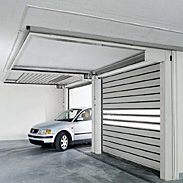 Rytec Doors Spiral® LH® Rigid rolling door for speed and security in low headroom applications.