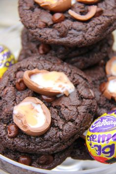 Passion for Baking: Creme Egg Cookies