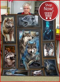 Wolf Gurus is the number 1 eCommerce site about wolf. until today we sell about Item About wolf, native america, viking, dream catcher. 3d Wolf Tattoo, Wolf Fleece, Animals Beautiful, Cute Animals, Wolf 3d, Wolf Painting, Werewolf Art, Wolf Pictures, Boy Blankets