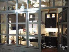 open space: come dividere cucina e soggiorno | lucia | pinterest ... - Vetrata Soggiorno Cucina