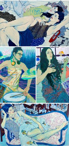 Hope Gangloff   #illustration   http://hopegangloff.com/drawings.html