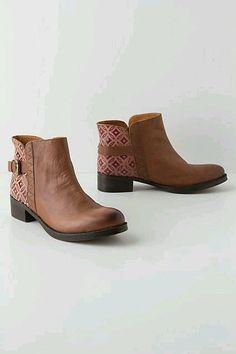 Anthropologie Shoes JASPER & JEERA CARAVAN TILE BOOTIES Buckle Ankle Boots 7 #JASPERJEERA #Booties #Any