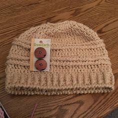 Crochet Pattern Messy Bun Beanie Crochet Pattern Bun Hat  838ced3af1