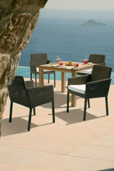 Barlow Tyrie Nevada Dining Arm chair