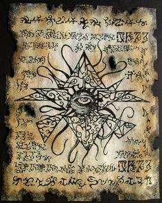 Eye of Azathoth by MrZarono.deviantart.com on @deviantART