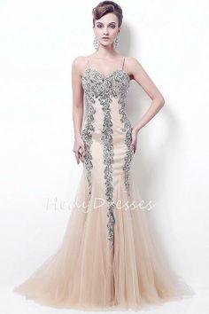 Custom MadeLong Prom DressMermaid Prom Dresses by HedyDresses