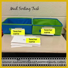 Workbasket Wednesday Linkup by Autism Classroom News at http://www.autismclassroomnews.com