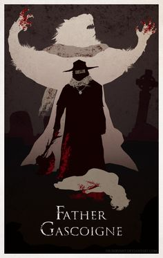 Bloodborne Minimal Poster - Father Gascoigne by Ob-servant