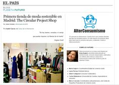 El País – Alterconsumismo – 26/03/2015 -  The Circular Project Shop