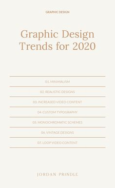 Graphic Design Trends For 2020 As we enter a new decade I want to share a few design predictions coming to brands and business owners Learn more at www jordanprindle graphicdesign graphicdesigntips - Design Food, Web Design, Graphic Design Trends, Graphic Design Layouts, Graphic Design Projects, Graphic Design Posters, Graphic Design Typography, Graphic Design Illustration, Graphic Design Inspiration