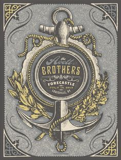 Official screen printed poster for the Avett Brothers performance at the Forecastle Festival in Louisville, KY 2013 by Status Serigraph
