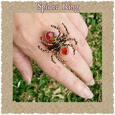 Spider Ring ver. 3   JewelryLessons.com