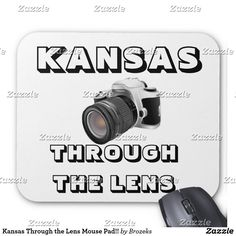 Kansas Through the Lens Mouse Pad!! Mouse Pad