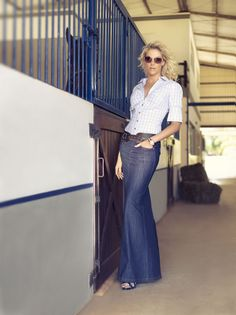 Blue jeans, Geena davis and Jeans on Pinterest