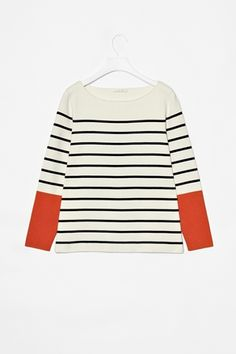 stripes with sharp sleeves. love it. got it.