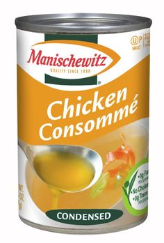 MANISCHEWITZ Chicken Consomme Condensed Soup, 10.5-Ounce Cans (Pack of 12) >>> Want additional info? Click on the image.