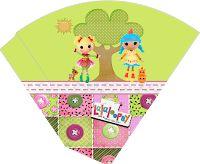 CALLY'S  DESIGN-Kits Personalizados Gratuitos: Kit Aniversário Digital Lalaloopsy