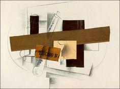 Picasso - Mandoline et clarinette (1913)