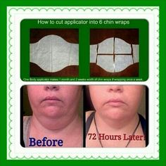 Check out these results! With the It Works Ultimate Body Applicators, you can wrap anywhere from your neck down! Call or Text 765.918.1617 or visit me at StephanieONealWraps.myitworks.com