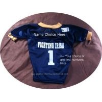 Personalized Notre Dame Dog Jersey  20b1972bd