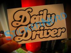 300,000 Miles Decal Sticker Import Domestic EURO JDM KDM