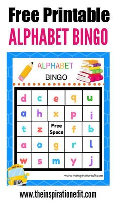 Free Alphabet Bingo Printable for Kids is a great option to use for keeping kids busy while learning at the same time! An ideal car game for travel! Abc Bingo, Bingo Games For Kids, Alphabet Bingo, Alphabet Party, Alphabet For Kids, Kids Games Free, Abc For Kids, Alphabet Activities Kindergarten, Preschool Printables