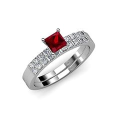 Ruby and Diamond Engagement Ring & Wedding Band Set 1.40 ... https://www.amazon.com/dp/B014P309L2/ref=cm_sw_r_pi_dp_x_kz6FybWPKQDHN