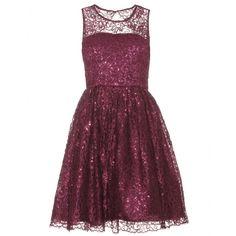 ophelia metallic dress by ALICE + OLIVIA