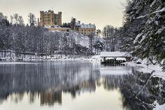 "breathtakingdestinations: ""Hohenschwangau Castle - Germany (by Carlos Andrés Reyes) """